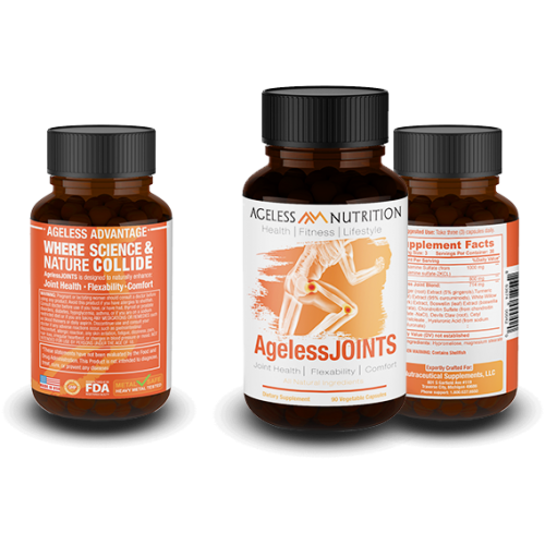 AgelessJOINTS - Natural Joint Health, Flexibility, and Comfort Supplement