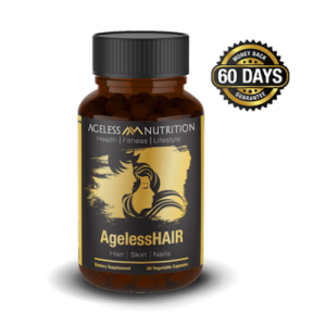 Ageless Hair All-Natural Health and Beauty Supplement