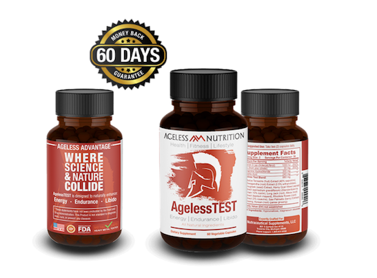Ageless TEST - Natural Testosterone Supplement