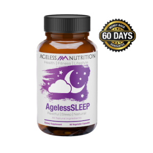 Ageless Sleep - Restful Sleep Aid All-Natural Supplement