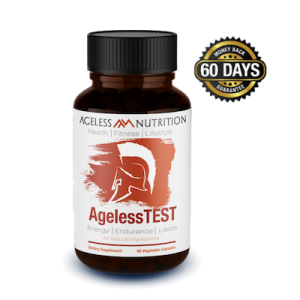 Ageless Test - Endurance and Libido All-Natural Energy Supplement