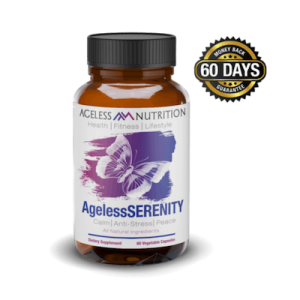 AgelessSERENITY - Natural Anti Anxiety and Stress Relief All-Natural Supplement