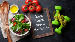 Healthy Lunch Break Workouts