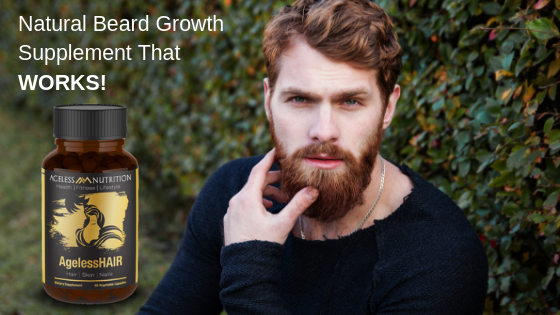 natural beard growth supplement - agelesshair