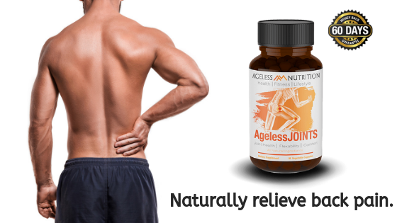 AgelessJOINTS natural pain relief supplement