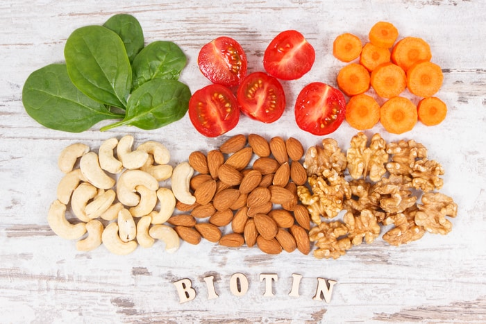 foods that contain biotin