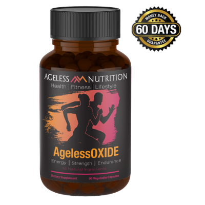 AgelessOxide Natural Energy Strength and Endurance All-Natural Supplement